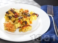 Рецепта Пуешко месо с ориз и зеленчуци
